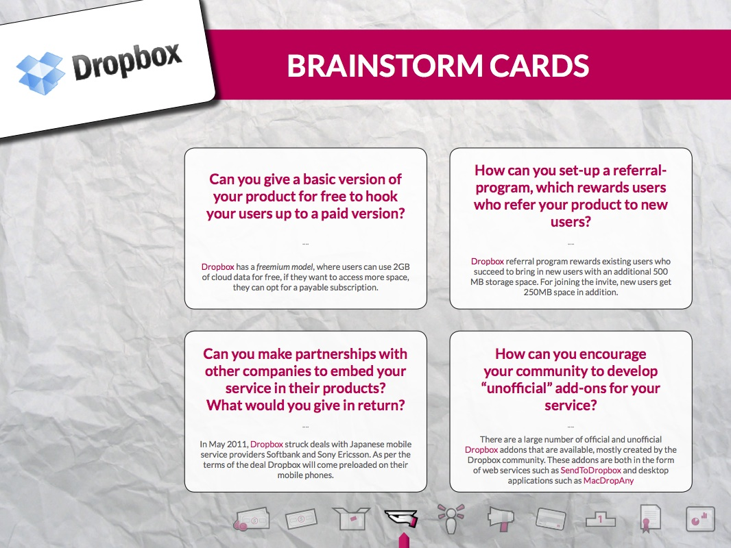 Business Model & Revenue Stream Brainstorm Kit
